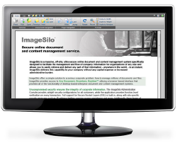 ImageSilo has the ability to handle over 250 different file types in native format